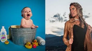 Nashville baby and adult portrait photos