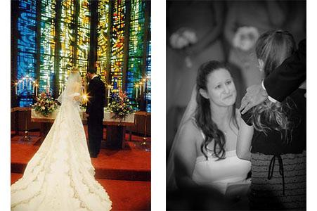 Wedding ceremony in New York