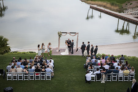 Wedding Ceremony at Lake Las Vegas