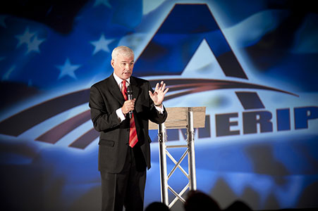 Key note speaker for the Ameriplan corporate convention at the Embassy Suites hotel in Frisco, TX