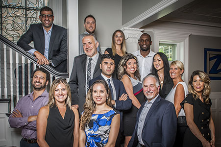 Business group shot for Real estate company