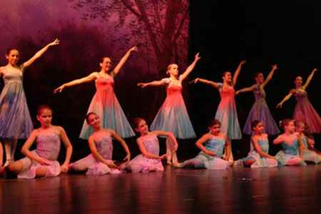 Dance school recital