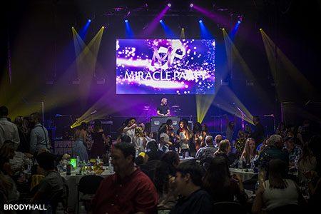 DJ performing on stage
