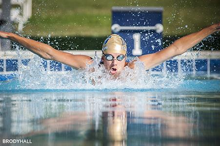 Swim meet in Hendersonville, TN