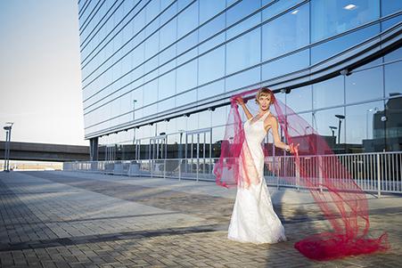 Dorotka in Bridal Gown at DIA