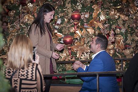 Meghan and Christ proposal photos