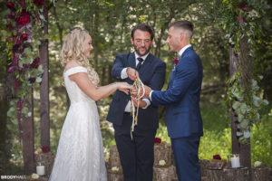 MacKenzie and Austin Hand Fasting Ceremony